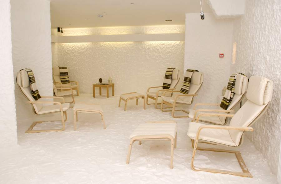 9 chairs in The Salt Cave
