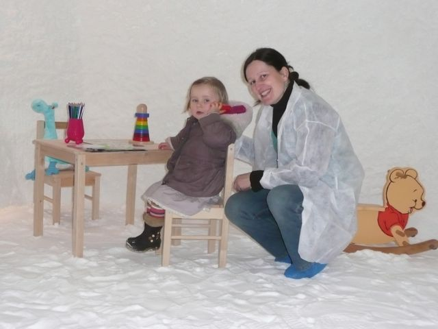 small patients in a Salt Cave